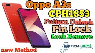 Oppo A3s Pattern Unlock Password Reset Without Box  Using Mrt 2.60