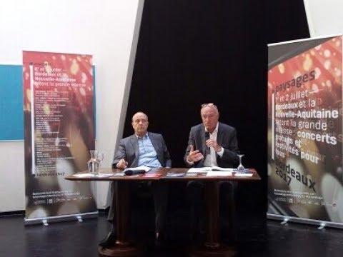 Interviews Alain Juppé et Alain Rousset sur les enjeux de la LGV
