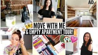 Move With Me & EMPTY APARTMENT TOUR! ♡ AD