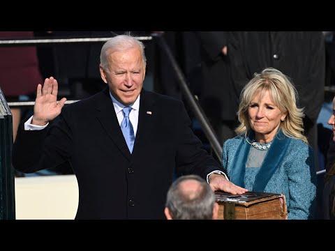 Watch U.S. President Joe Biden's full inauguration speech