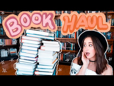 ANOTHER MASSIVE BOOK HAUL! | 40+ Books! Unboxings, Romance, Adult, Middle Grade, and YA!