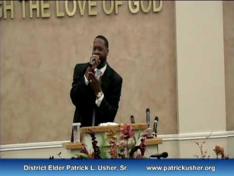 Pastor Patrick Usher