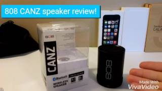 808 CANZ speaker review!