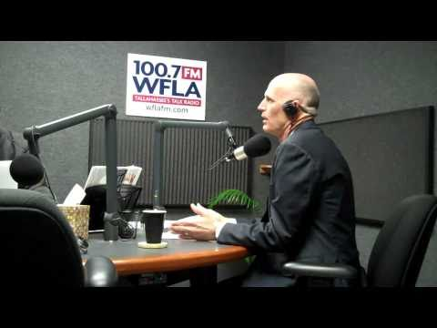Rick Scott Interview - WFLA Morning Show (Part 1 of 3)