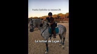 Passion Equitation en vacances #2 - Jour 1 - Mon copain teste l'équitation !