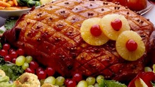 Best Baked Ham Recipe With Honey And Balsamic Vinegar Glaze, Must See!