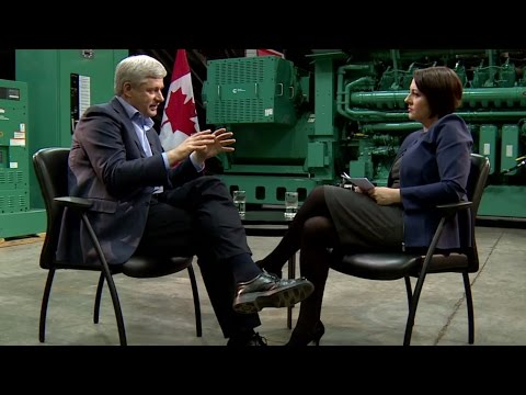 FULL INTERVIEW: Stephen Harper on Power & Politics