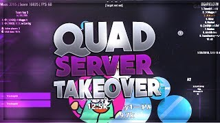 Agar.io ╸Quad Server Takeover(#15)