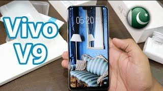 Vivo V9 Unboxing & First Look | Available In Pakistan!