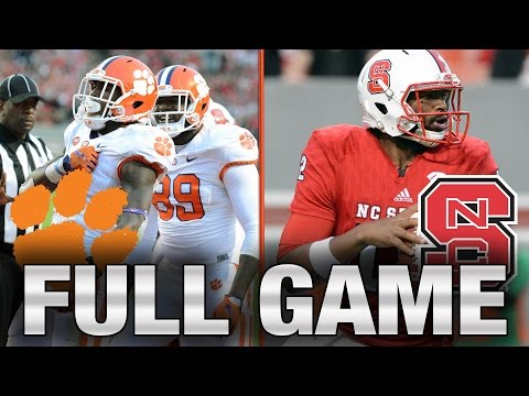 Clemson vs. NC State: Full Game | 2015 ACC Football