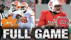 Clemson vs. NC State: Full Game | 2015 ACC Football