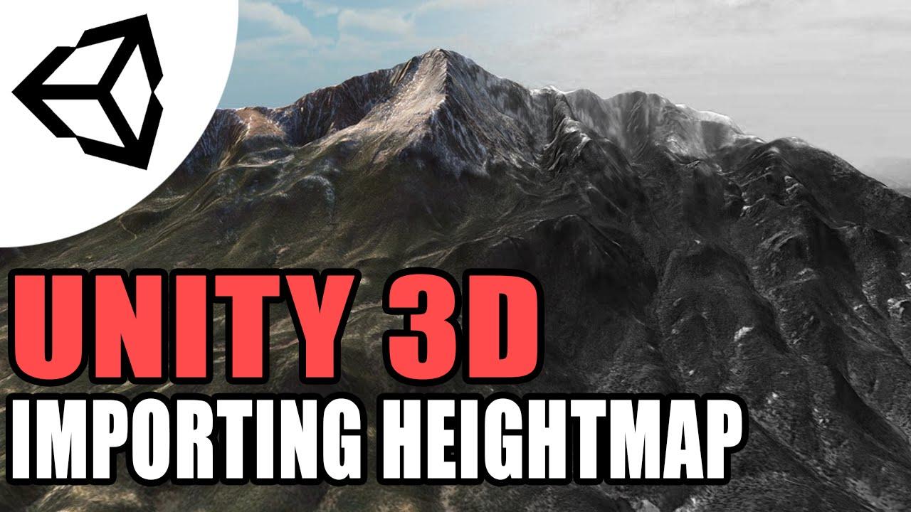 Unity Terrain & Heightmaps (Create/Import) [Tutorial][C#] - Unity 3d