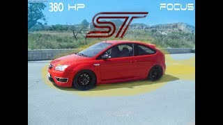 Ford Focus ST Con casi 400hp; Reseña en español