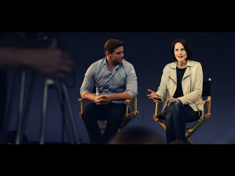 Michelle Dockery and Allen Leech: Downton Abbey Interview