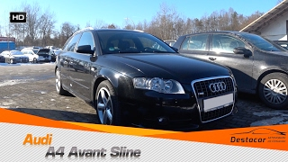 Осмотр Audi A4 Avant Sline 2007 Год.