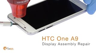 https://www.fixez.com presents the official HTC One A9 Screen Repla...