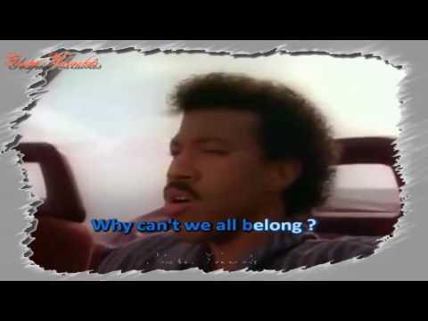Karaoké - Lionel Richie - Love will conquer all