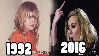 Los grandes cambios de Adele   Adele Antes y después 2016