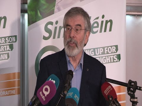 Gerry Adams final speech to Sinn Féin activists in the north