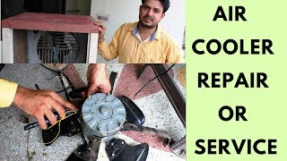 HOW TO REPAIR / SERVICE AIR COOLER AT HOME