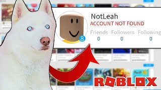 MY DOG DELETED MY ROBLOX ACCOUNT!