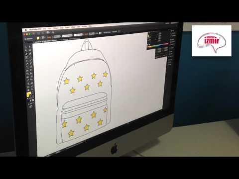 686deaab40de5 Moda Tasarım - Çanta Tasarımı (Sırt Çantası) - YouTube