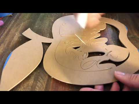 Cutting Chipboard with the Cricut Maker and Knife Blade Teacher Gift