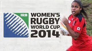 Women's Rugby World Cup 2014 - Tries and highlights