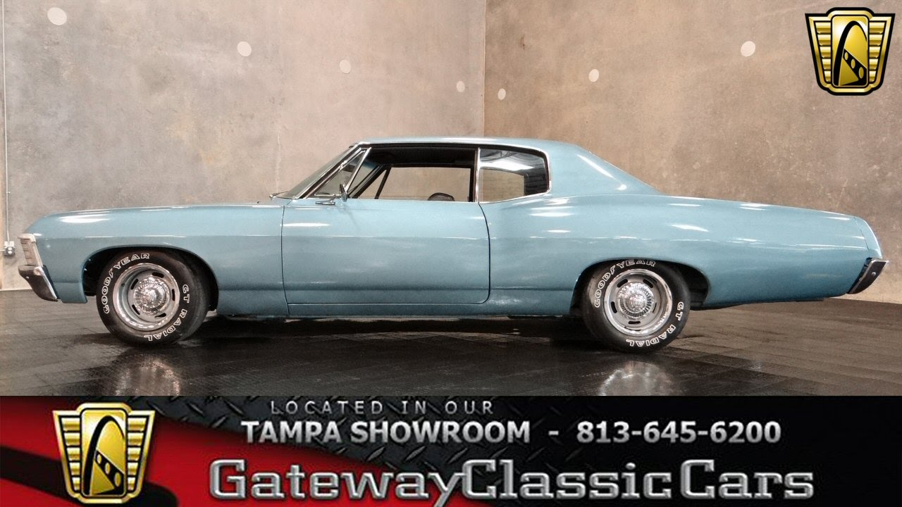 Cars For Sale In Tampa >> 1967 Chevrolet Caprice Tampa Fla - YouTube