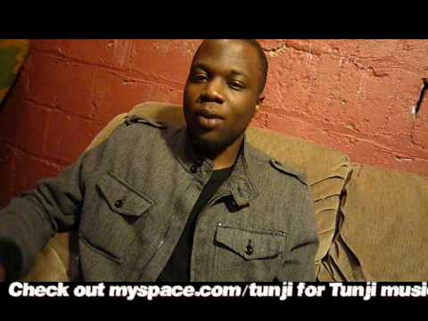 Tunji Interview in Rochester, NY 2009