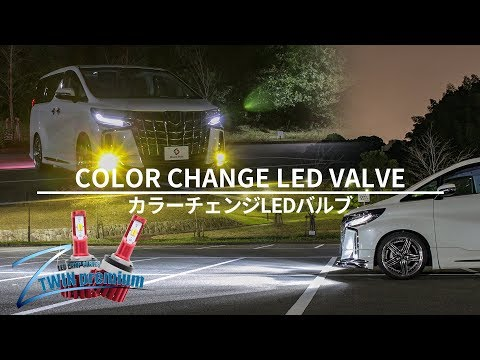 イエロー&ホワイトカラー発光搭載レッドボディダブルカラーフォグランプ取付動画|株式会社シェアスタイル