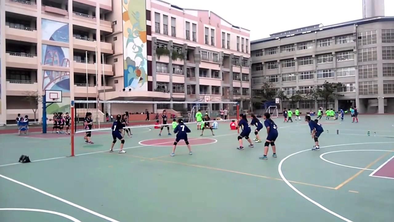 新北市蘆洲成功國小排球隊106年小運會賽前訓練 - YouTube