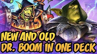New And Old Dr. Boom In One Deck | Wild Mech Control Warrior | The Boomsday Project | Hearthstone
