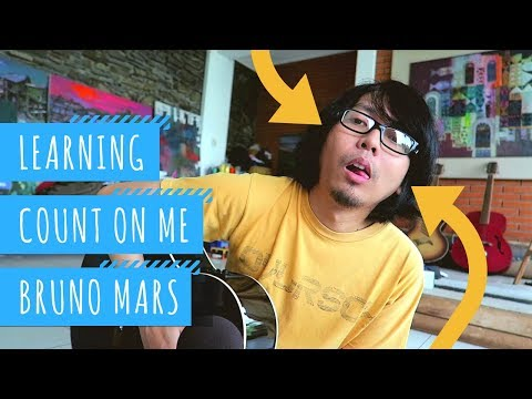 Belajar Lagu Count On Me By Bruno Mars | ToscaVlog