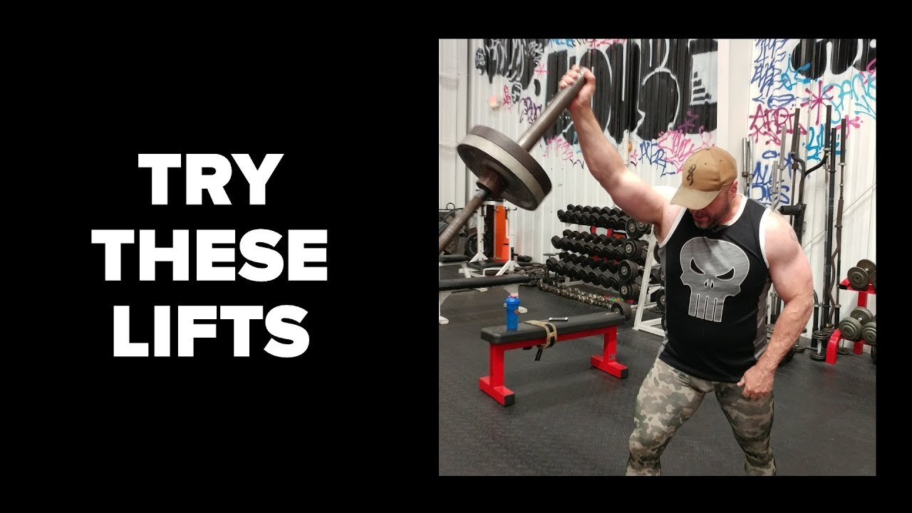 Three barbell exercises you must try