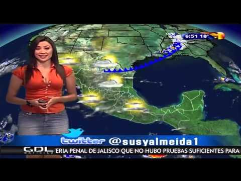 Susana Almeida   Sexual Mexican Weather Woman