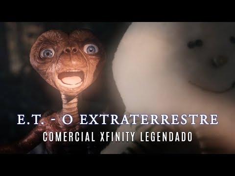 E.T. - O Extraterrestre • Curta Xfinity Legendado