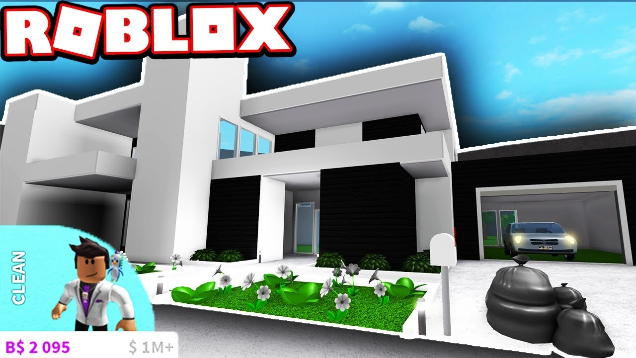 Luxurious modern house super cheap roblox bloxburg