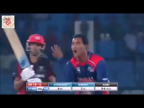 Sompal Kami Wickets Compilation 2017