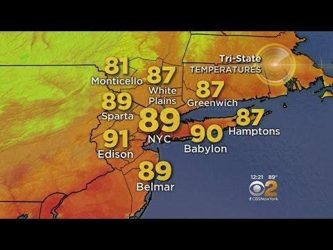 Oppressive Heat Lingers