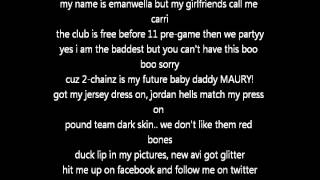Ratchet Girl Anthem (Lyrics)