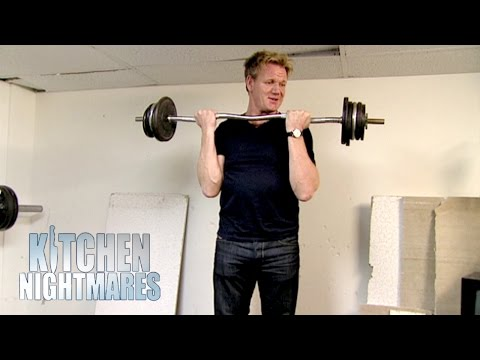 Depressed Owner Destroys Gym And Ruins Italian Food Kitchen Nightmares
