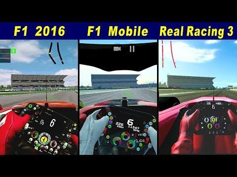 F1 2016 Vs F1 Mobile Racing Vs Real Racing 3 @ Hockenheimring