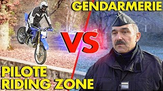MOTORCYCLE POLICE VS FREESTYLE PILOTE !