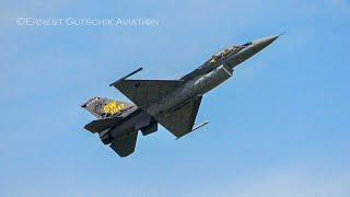 Airshow London SkyDrive 2020 | USAF F-16 Viper Demo Team 'Venom'