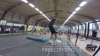 Alex Fomin, step in Nantes ( France)