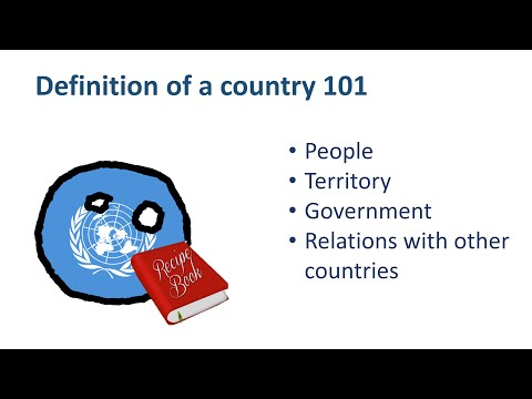 How to create a Country?