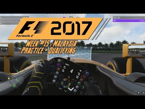 F1 2017 Career | Malaysia Practice/Qualifying