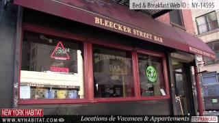 New York : Visite Guidée D'un Bed & Breakfast Sur La 5ème Rue Est (east Village - Manhattan)