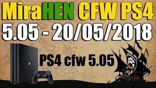 CFW PS4 5.05 MiraHEN 20 de MAYO 2018 - NOTICIA